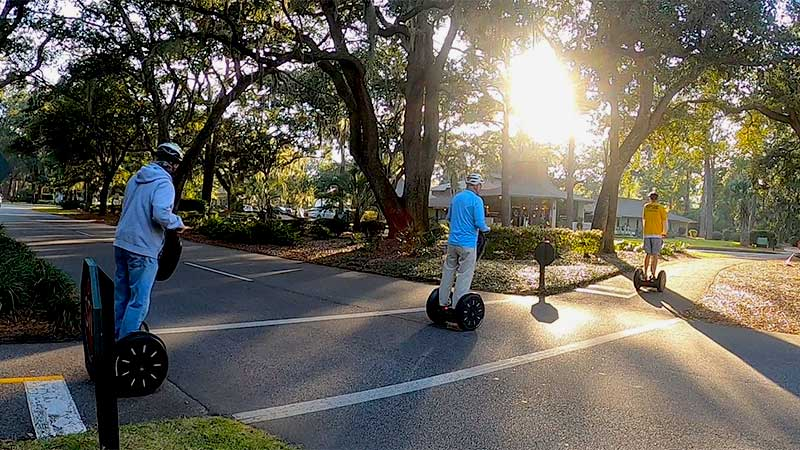 Hilton Head Segway Tropical Pathway Ride