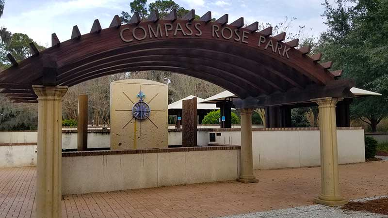 Tropical Pathway Ride - Compass Rose Park